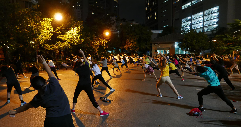 dancing in Bangkok