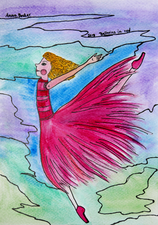 Ballett by Anna Becker