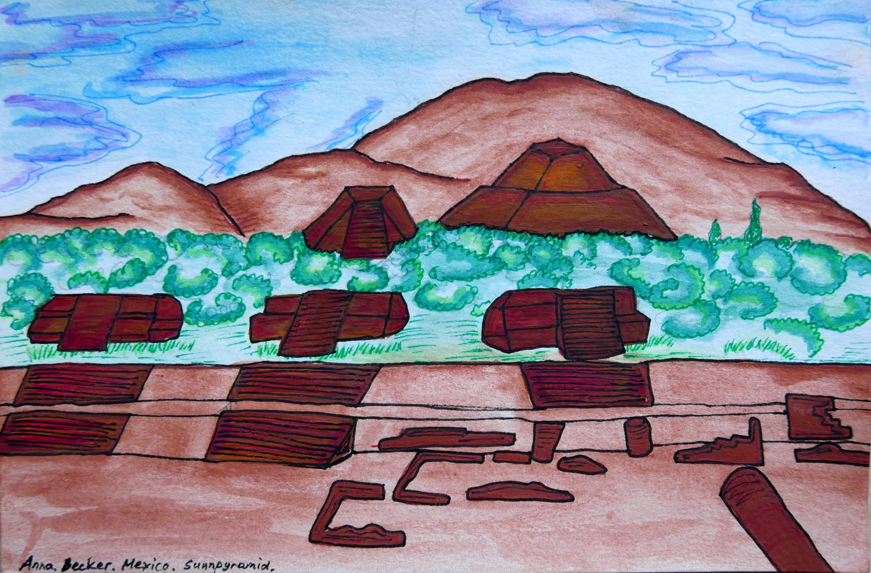 Mexico Sunpyramid