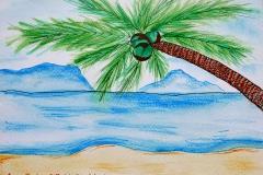 Koh Samui beach by Anna Becker