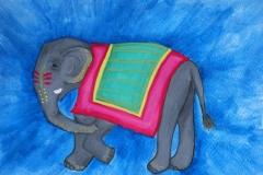 india jaipur elephant