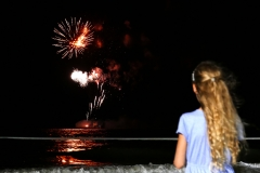 Townsville New Year fireworks