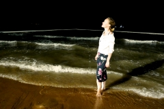 Townsville New Year in the ocean
