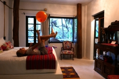 casa ambar tulum our room