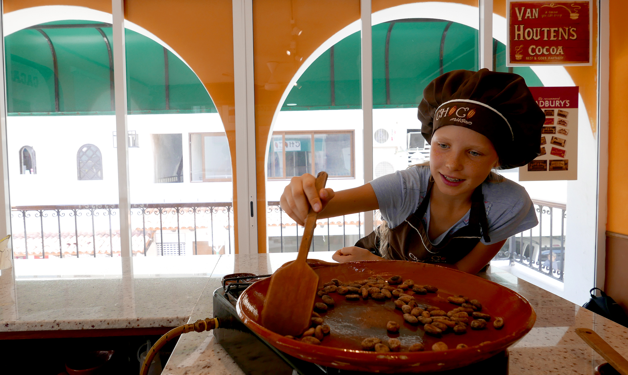 Bean to Bar workshop at Choco Museo Puerto Vallarta
