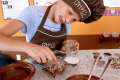 Anna is making chocolate by Choco Museo Puerto Vallarta