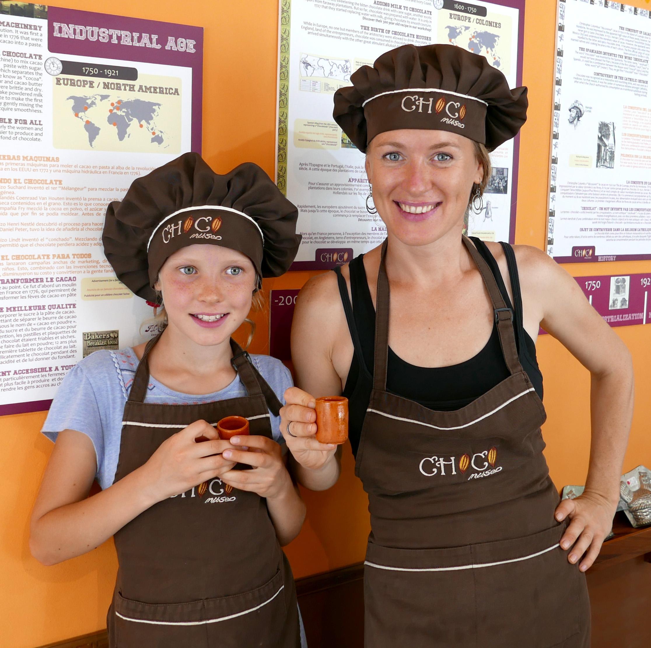 Making chocolate by Choco Museo Puerto Vallarta