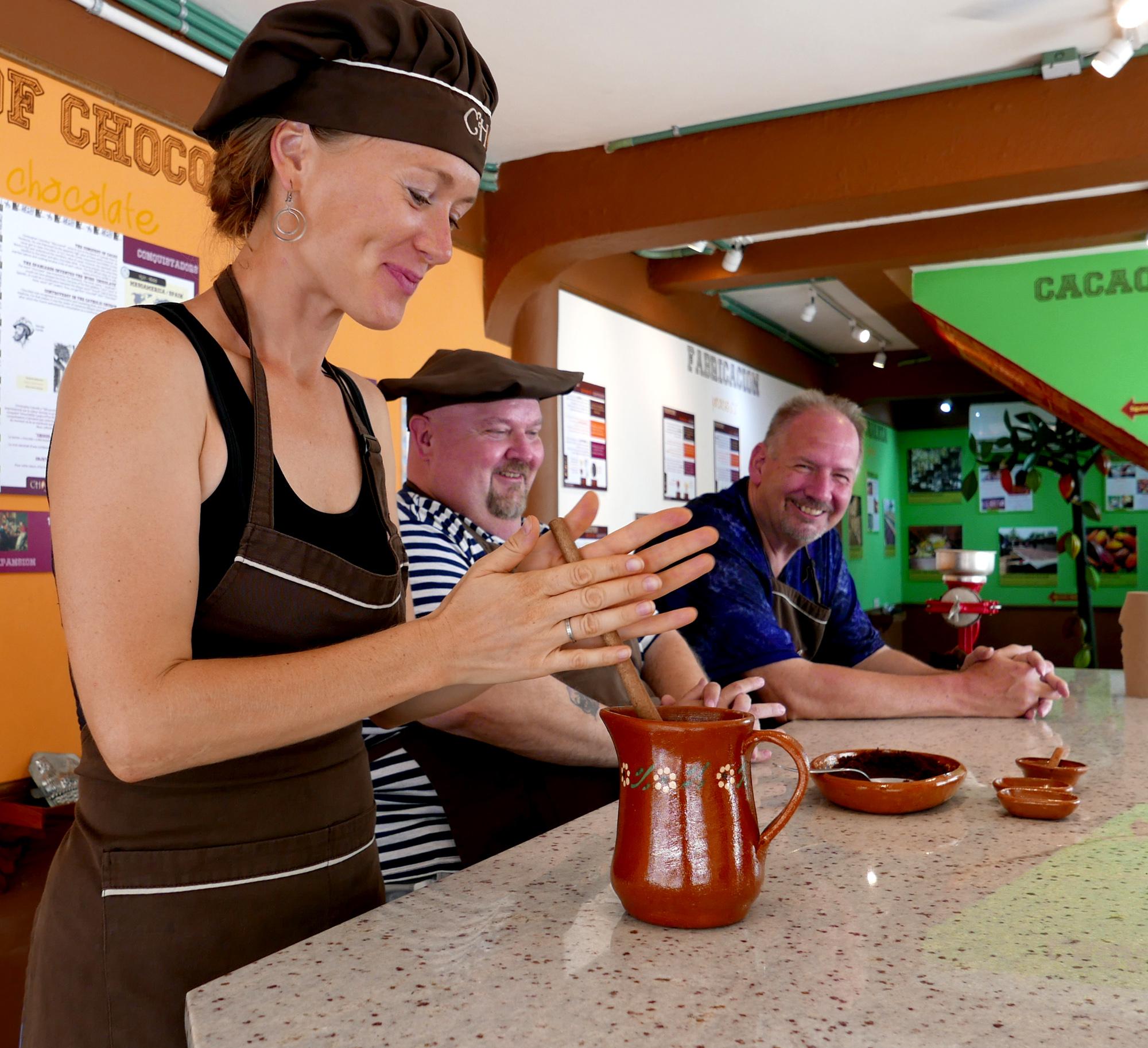 workshop at Choco Museo Puerto Vallarta