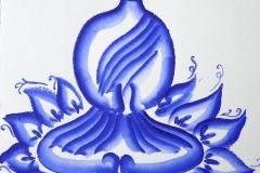 Будда Гжель