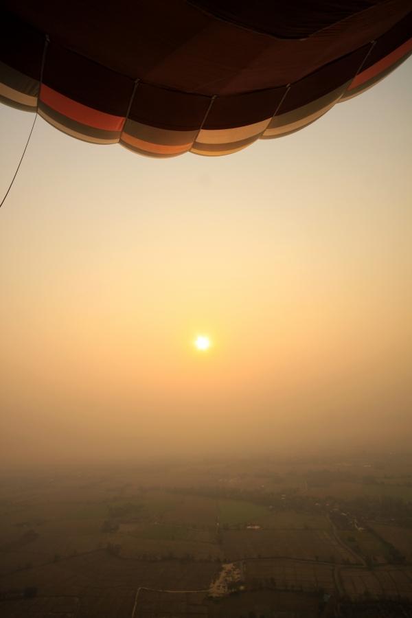 Восход, каким его видят птицы