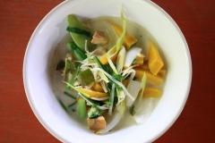 Our pumpkin soup