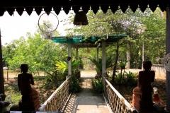 Ruhig in einem kleinen Dorf bei Chiang Mai gelegen
