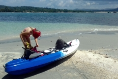 Gold Sand Beach Bungalow Kayak
