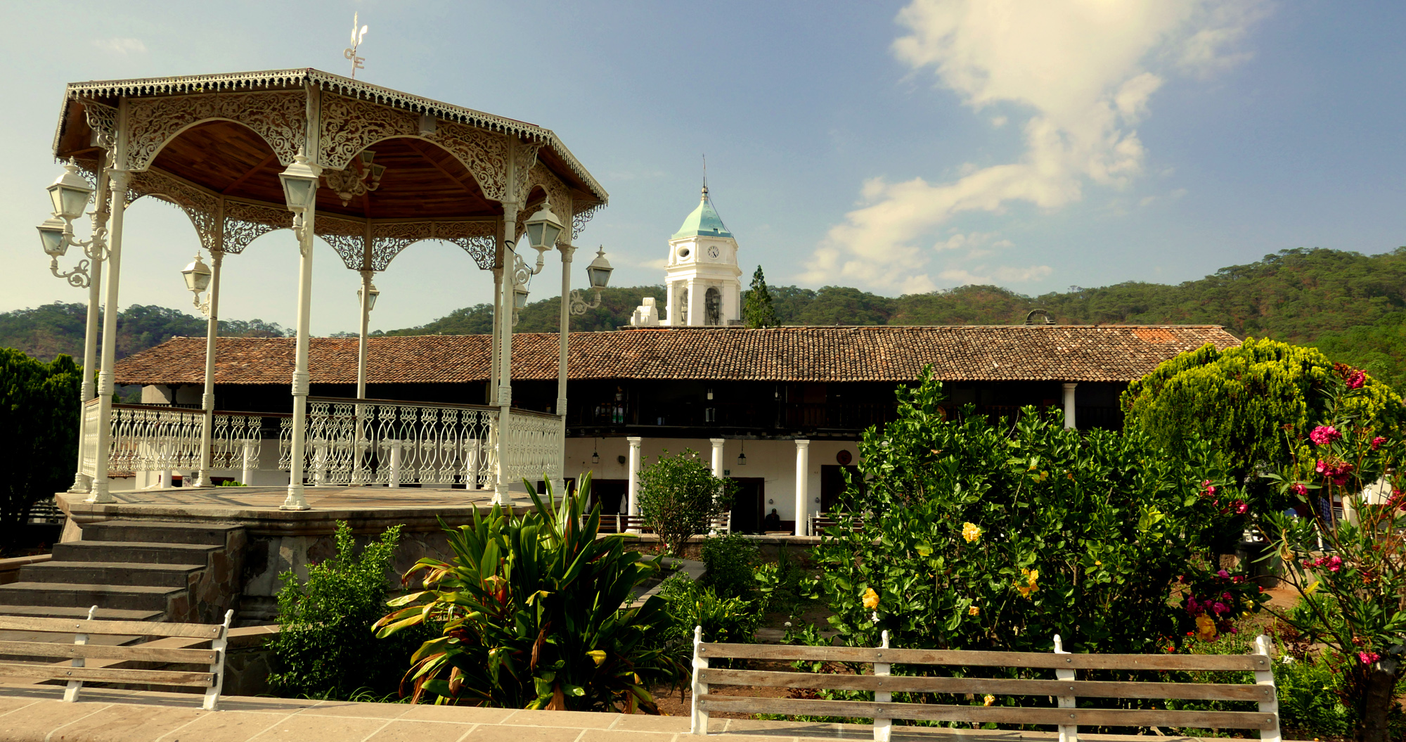 San Sebastian Mexico Plaza