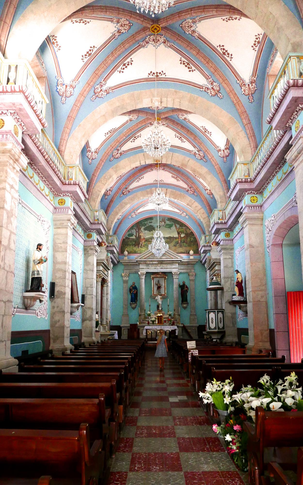 San Sebastian Mexico church