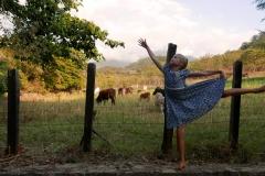 San Sebastian Mexico Anna is dancing ballett