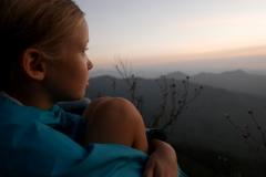 San Sebastian Mexico sunset in the mountains Anna