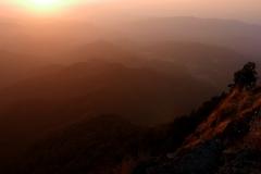 San Sebastian Mexico sunset in the mountains