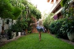 Nana Vida courtyard