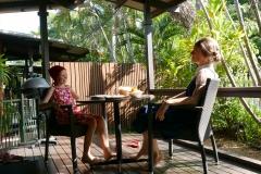 Palms City resort terrasse Darwin