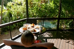 Palms City resort terrasse lunch Darwin
