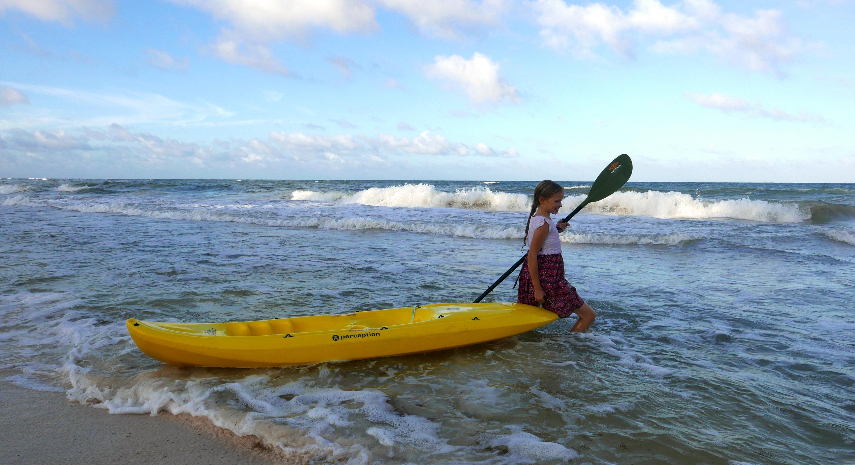 Playa Selva Tulum kayak