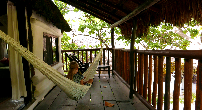 Playa Selva Tulum teracce upstairs