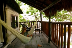 Playa Selva Tulum teracce upstairs