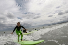 Green Wave Raglan