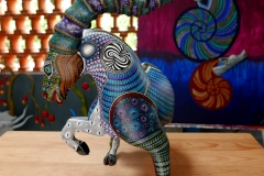 Alebrijes art in Tilcajete
