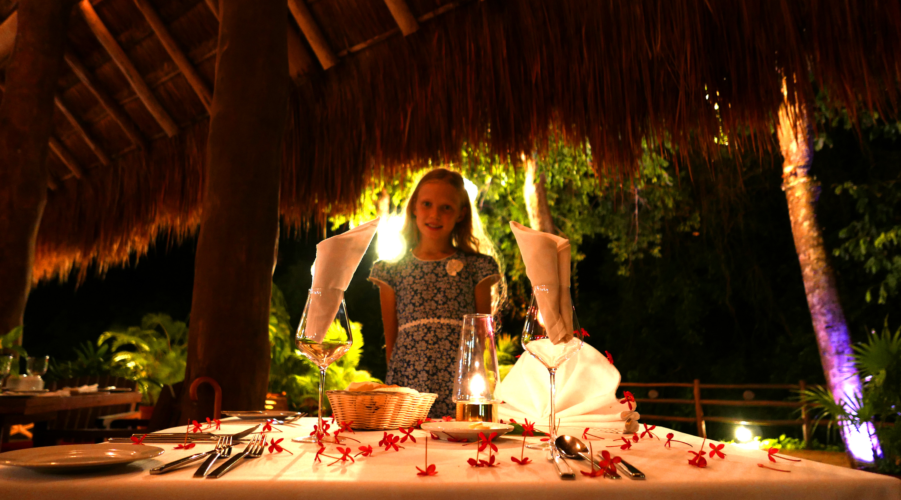 The Explorean Kohunlich welcome dinner