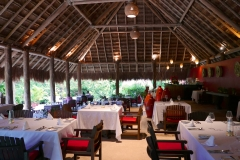 The Explorean Kohunlich restaurant dinner