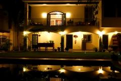 villas parota by night