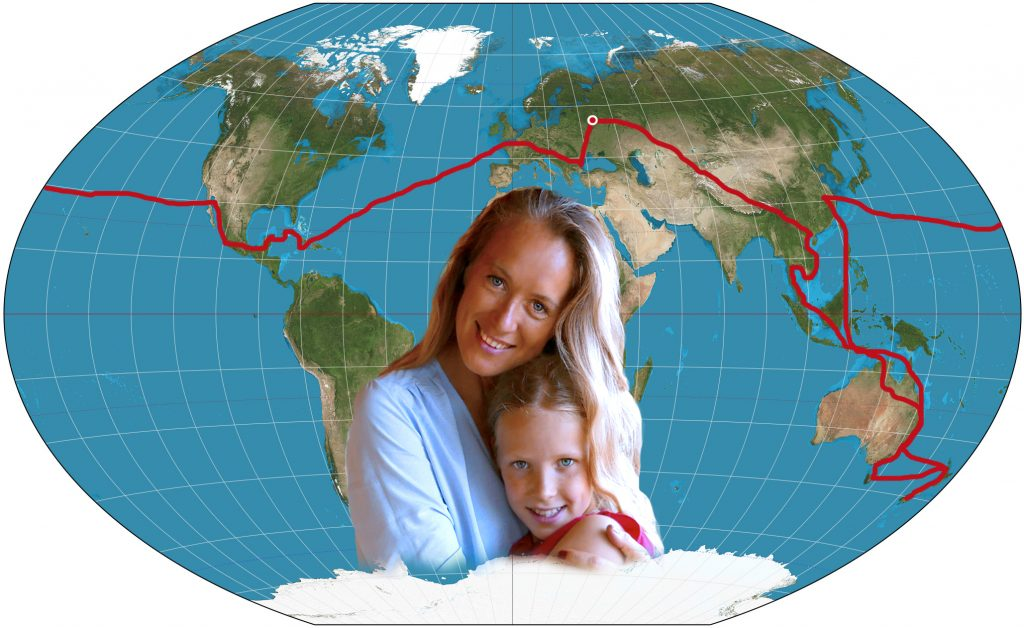 Around the world travel films Bogdanova Becker