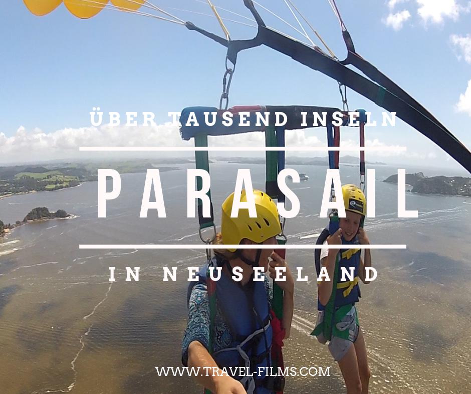 Parasailing Neuseeland