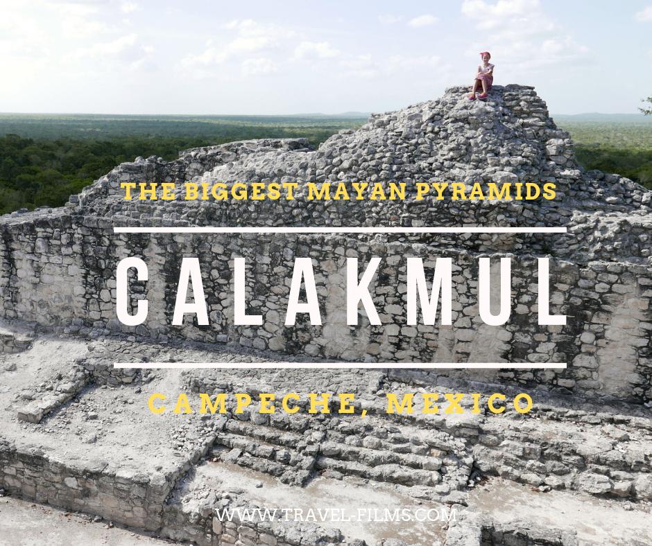 calakmul mexican pyramids