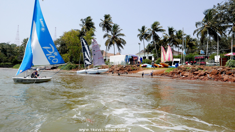 Aquasail 360 Bambolim Goa sailing class
