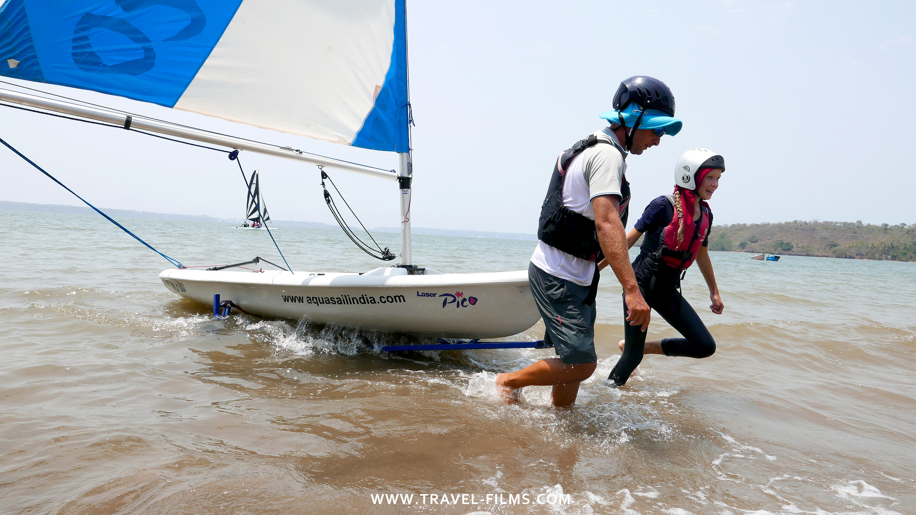 Aquasail sailing school Goa