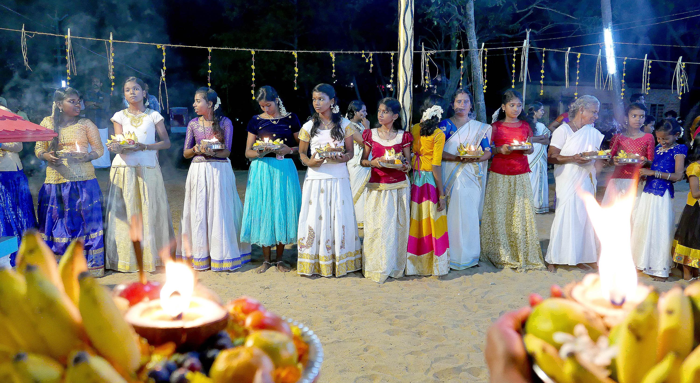 Cherai temple festival Kerala Bogdanova