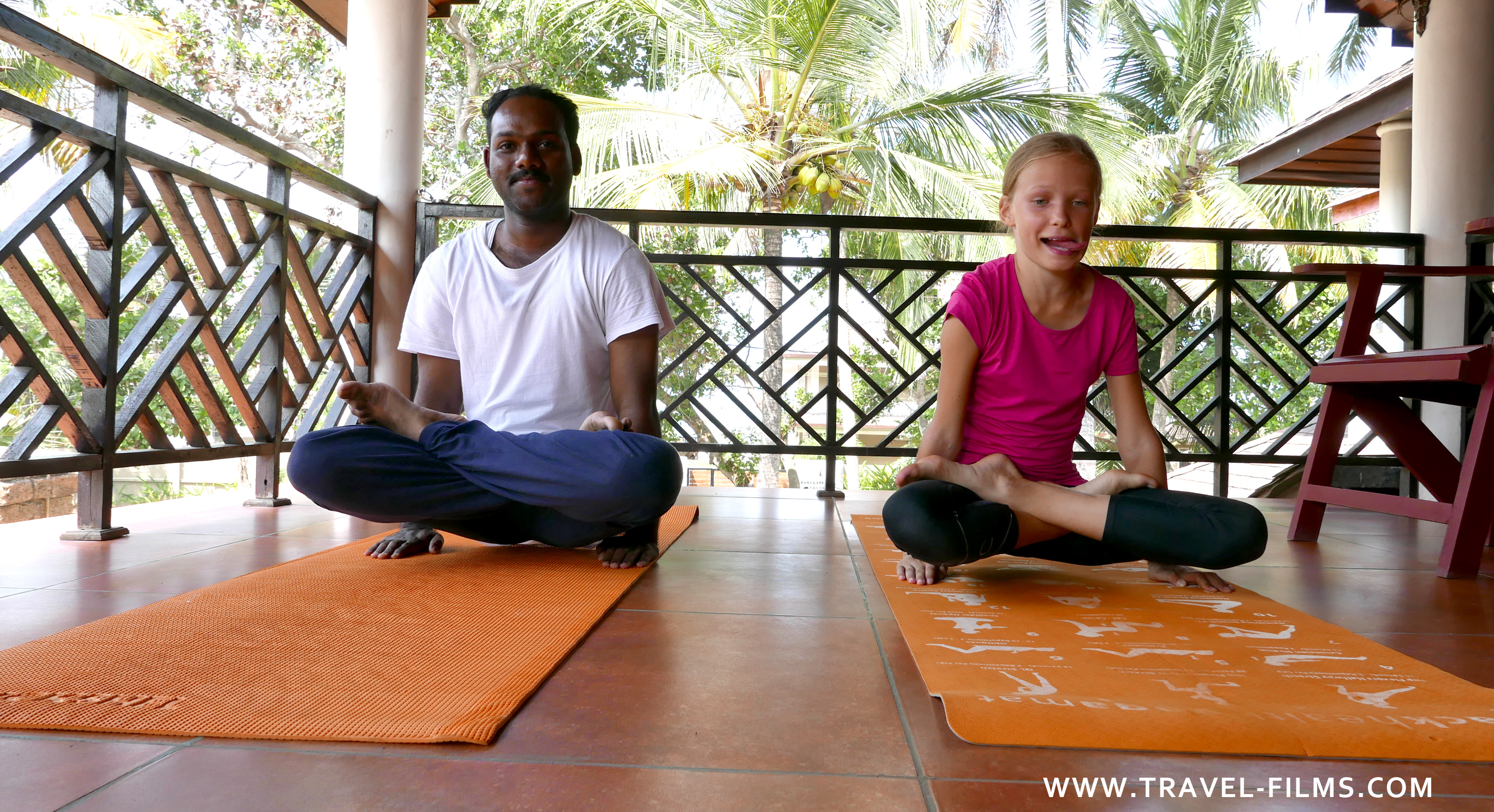 Sukhayus Ayurveda Wellness Heritage Yoga session