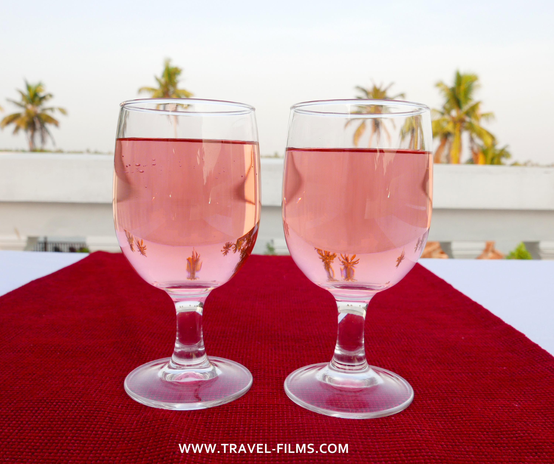 Sukhayus resort dinner Cherai Kerala
