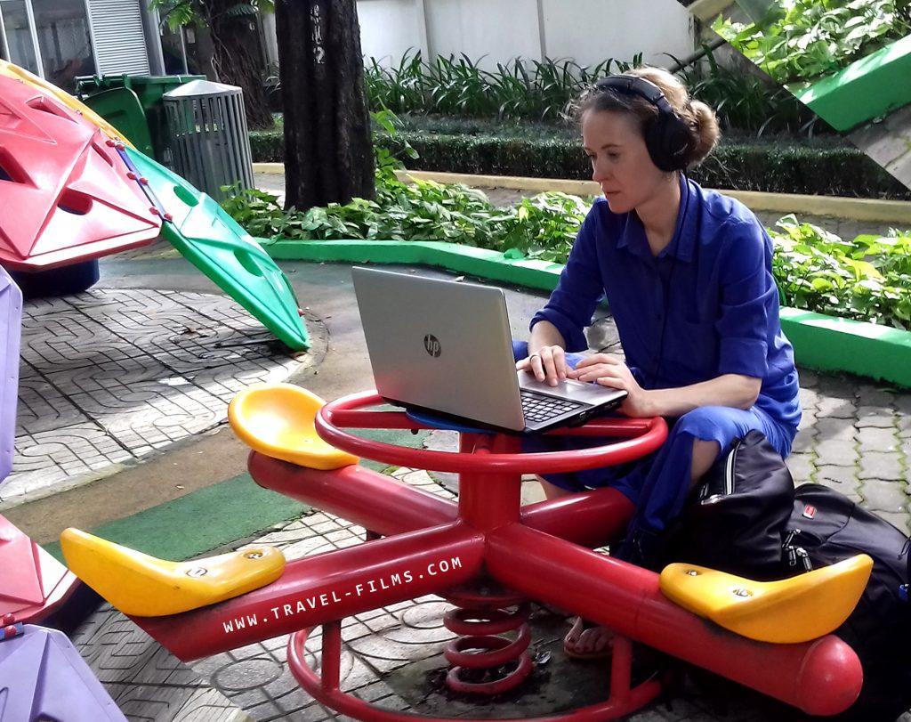 nomad at work travel films