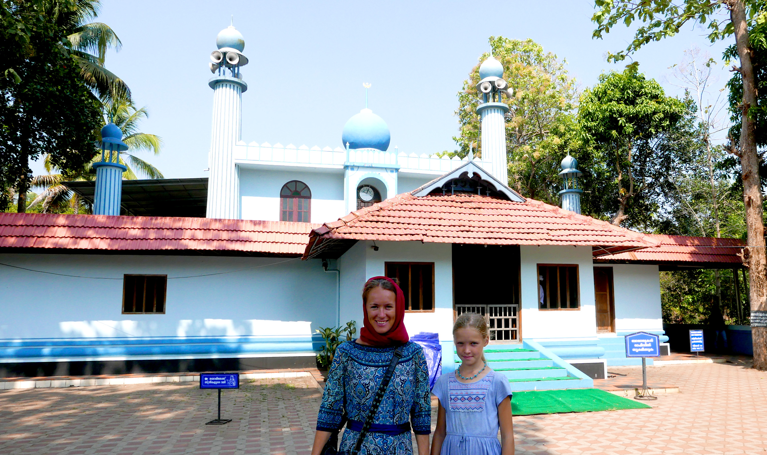 the oldest mosk in india kerala