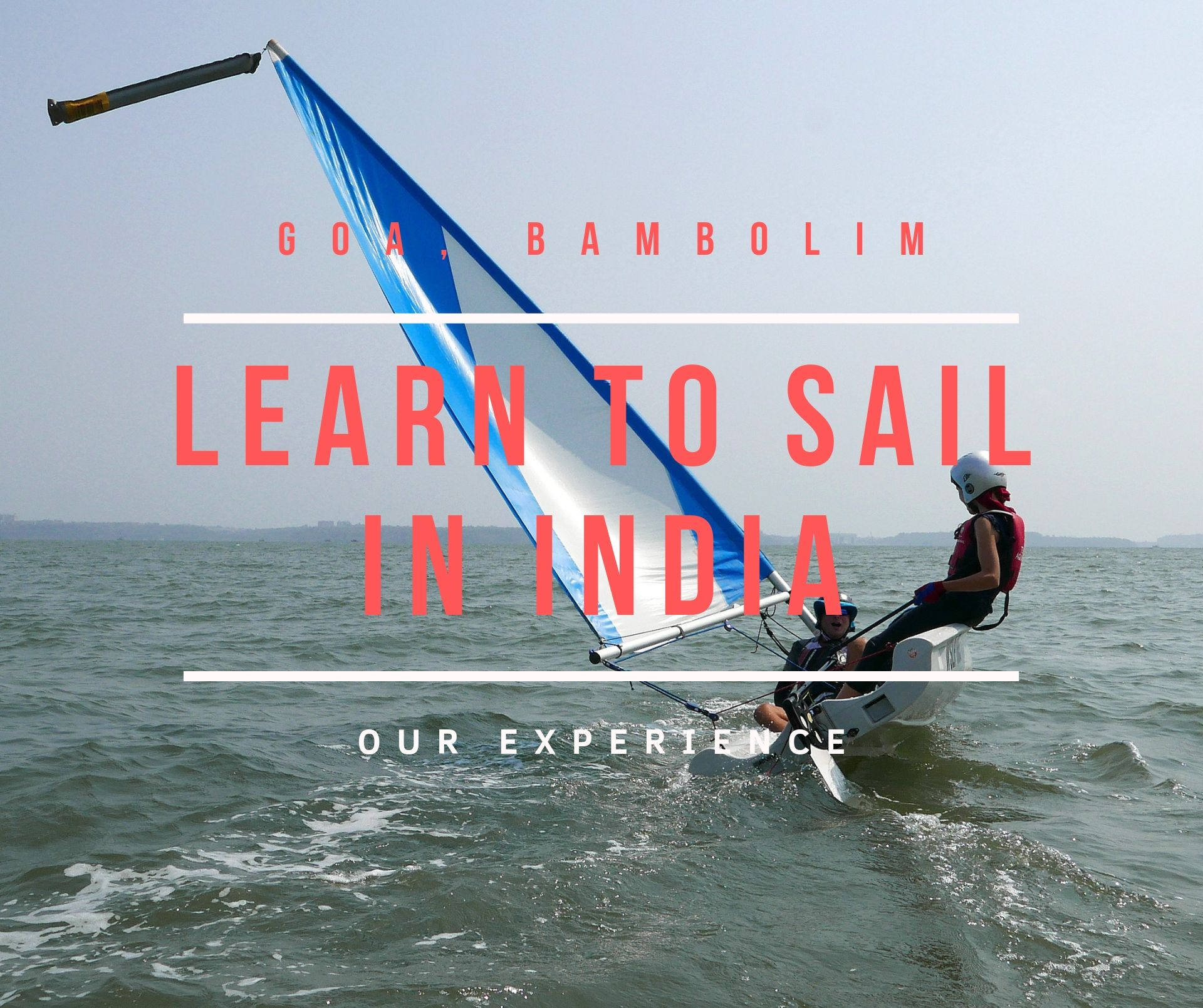 Sailing school in Goa