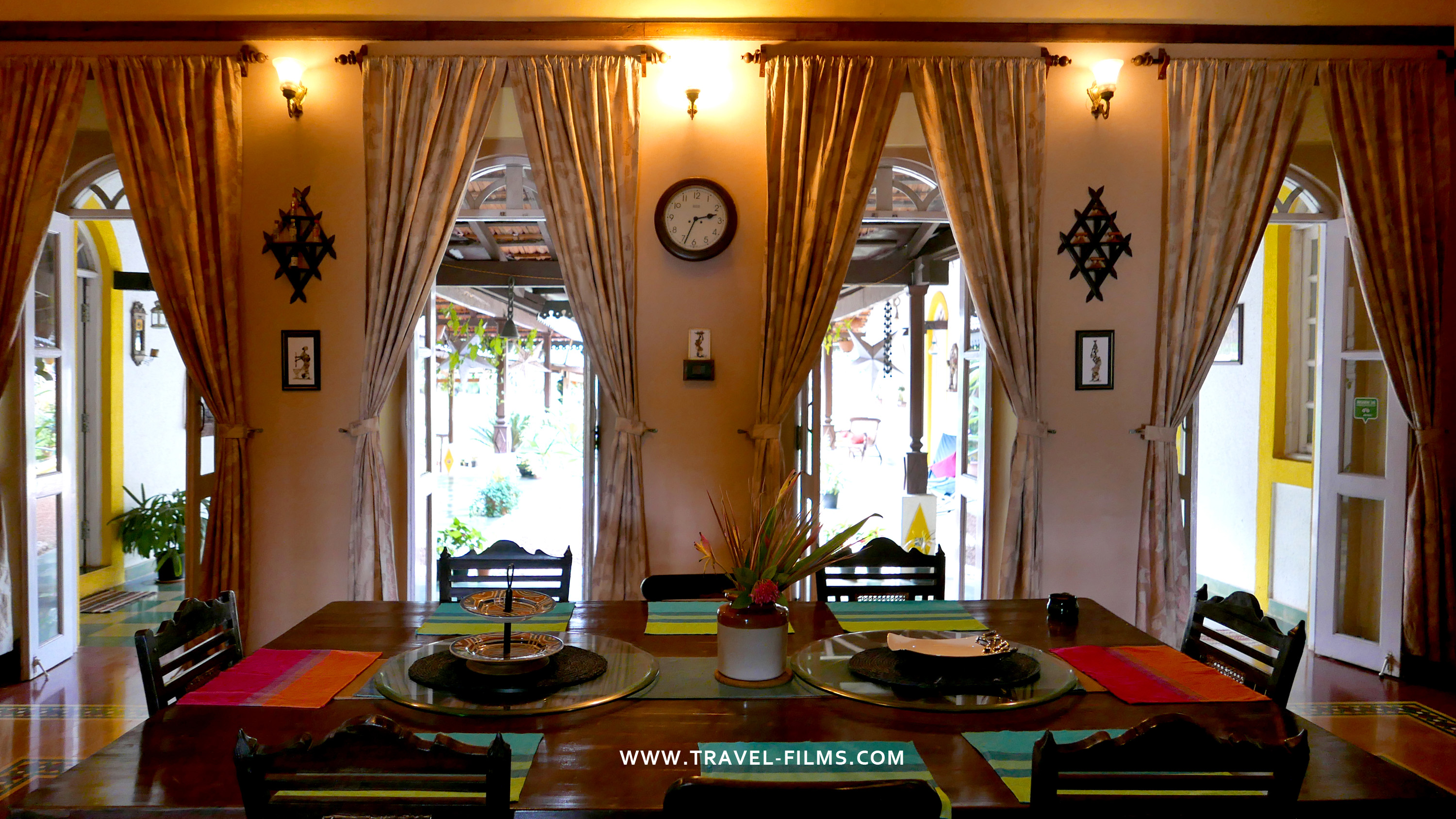 Arco Iris Boutique Homestay dining
