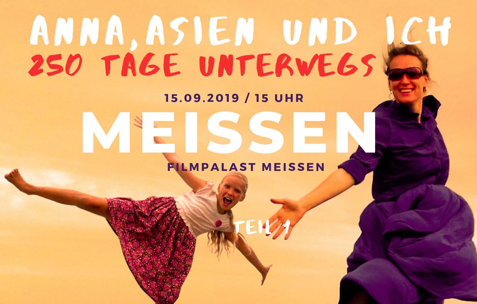 Film tour Anna Asien und Ich Meissen Deutschland
