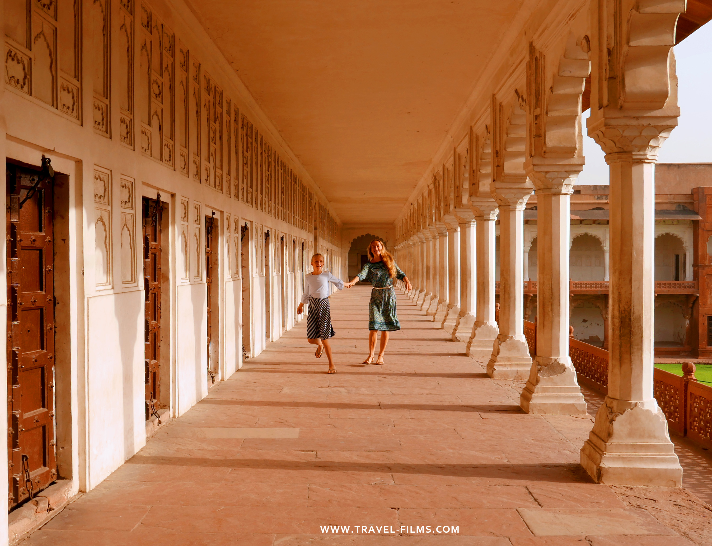 Agra travel films India
