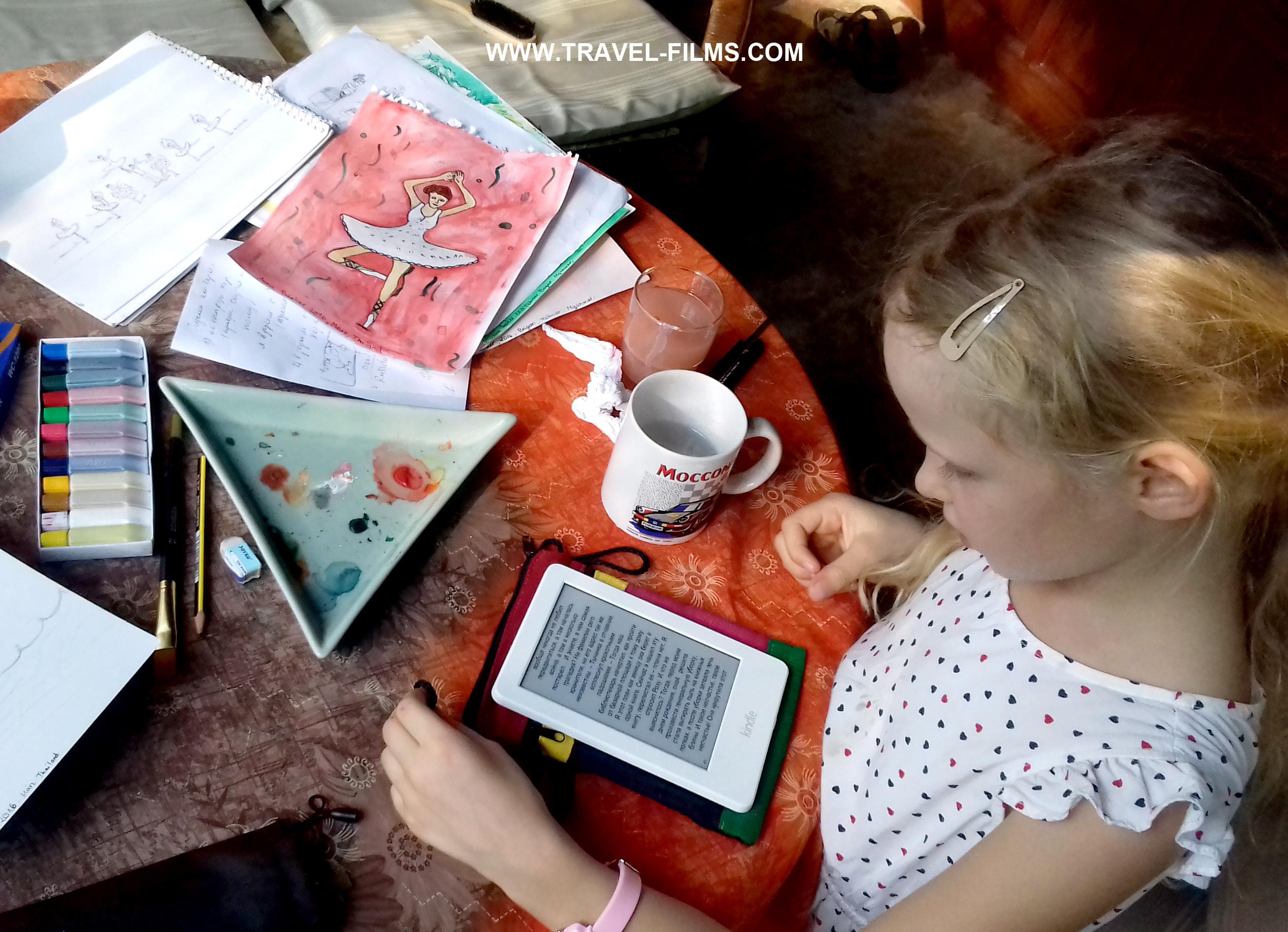 Worldschooling Anna Asien und Ich