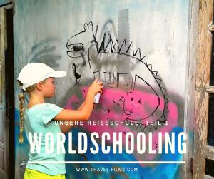Worldschooling Reiseschule