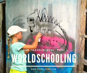 Worldschooling Travel school